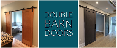 Custom Double Barn Doors