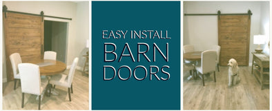 Easy to Install Barn Doors