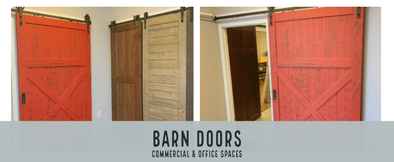 Barn Doors in Commercial and Office Spaces