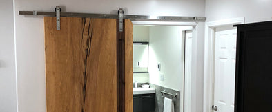 Sliding Bathroom Doors