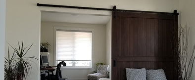 best wood for a barn door