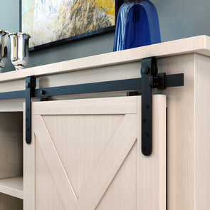 Mini Barn Door Hardware for Cabinets