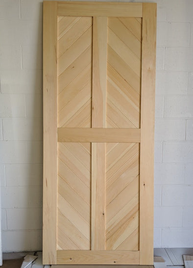 Viba Starburst Solid Pine Barn Door