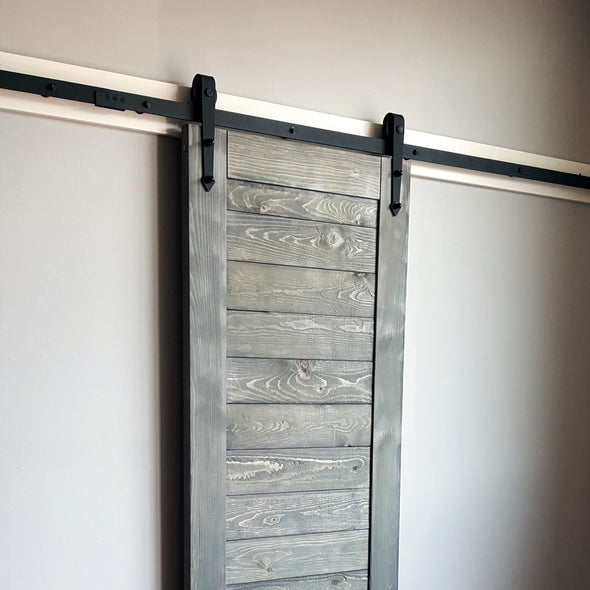 Arrow Strap Barn Door Hardware With Soft Close Technology