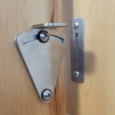 Barn Door Privacy Latch