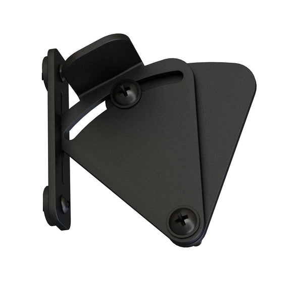 Barn Door Privacy Latch - Black Steel