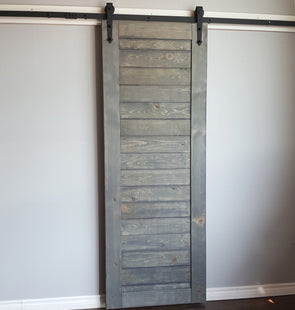 The Refined Rustic Barn door is just that - refined. Lightly roughened on one side at the mill, it has a really rustic appearance, without old lead paint or splinters.
