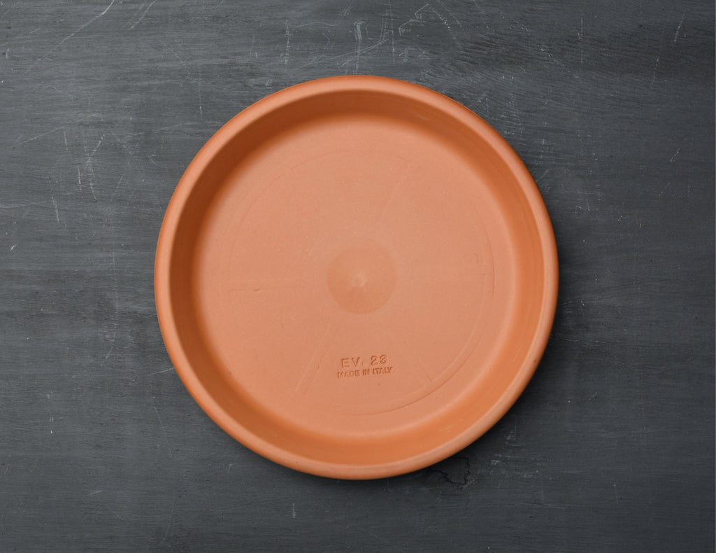 23cm Italian Terracotta Pot Tray