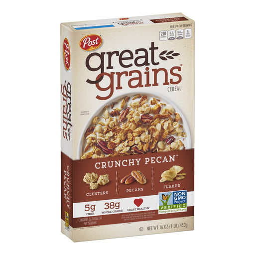 Post Great Grains Cereal - Crunchy Pecan 453g