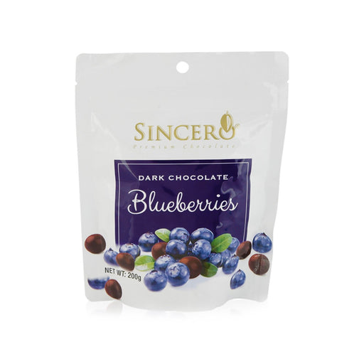 Sincero Dark Chocolate Coated Blueberries 50g/200g