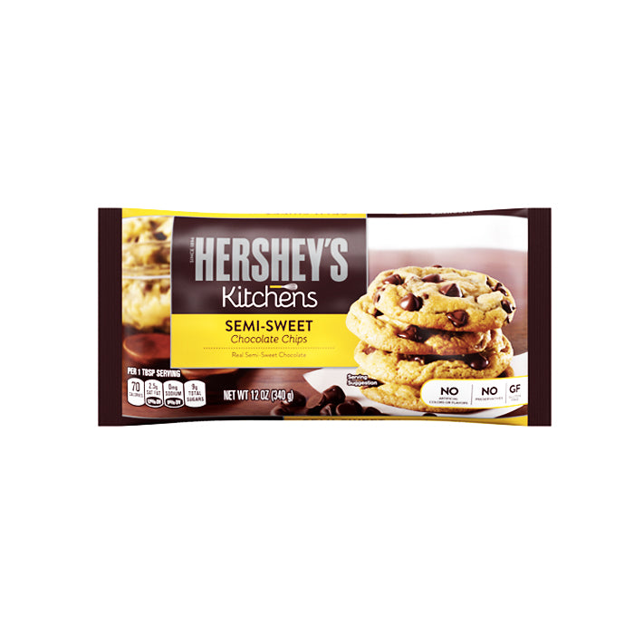 Hershey's Semi-Sweet Chocolate Chips 12oz (340g)