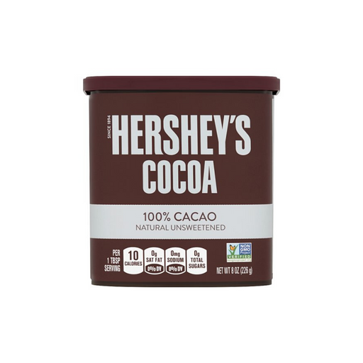 Hershey's Cocoa - 100% Natural Unsweetened Cacao 8oz (226g)