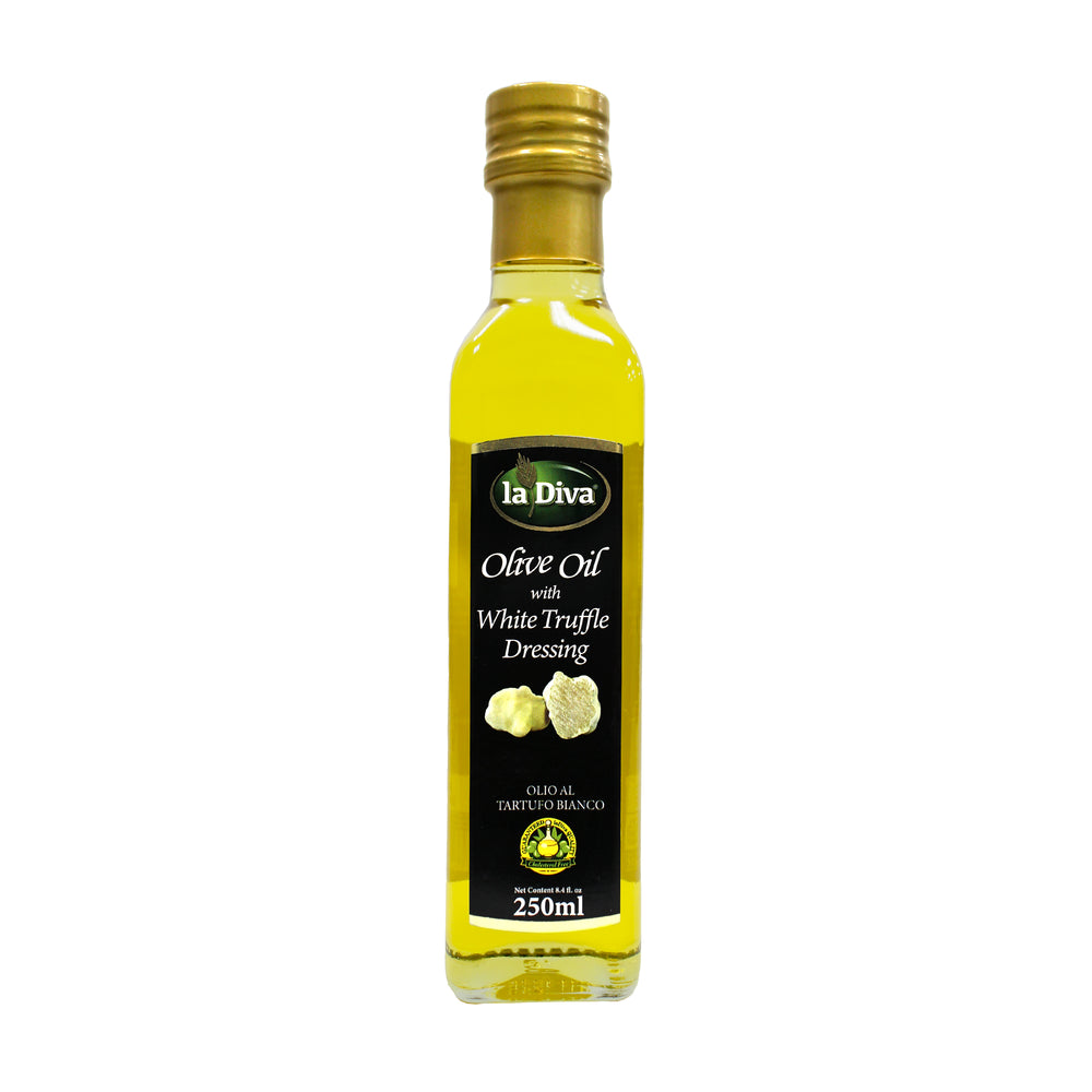 La Diva Olive Oil with White Truffle 250ml
