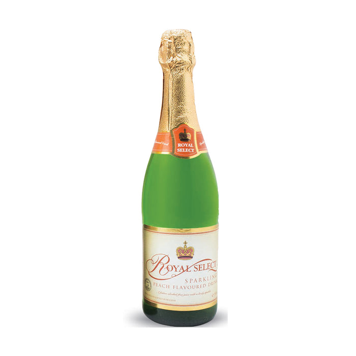Royal Select Peach Sparkling Juice 750ml