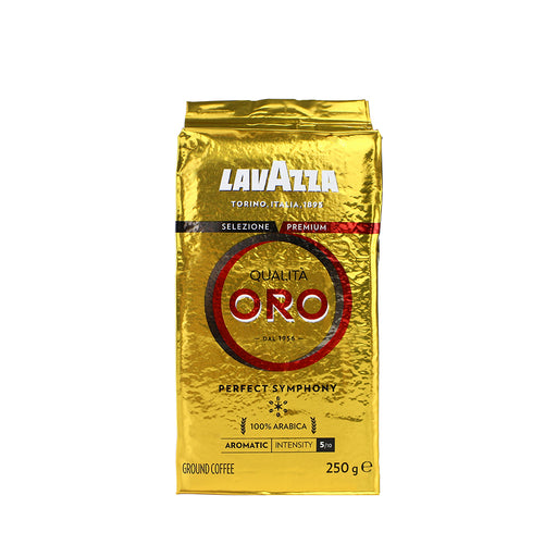 Lavazza Qualita Oro Coffee Grounds 250g Bag