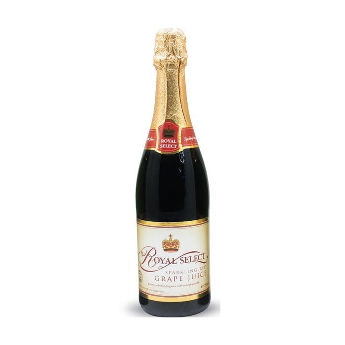 Royal Select Red Grape Sparkling Juice 750ml