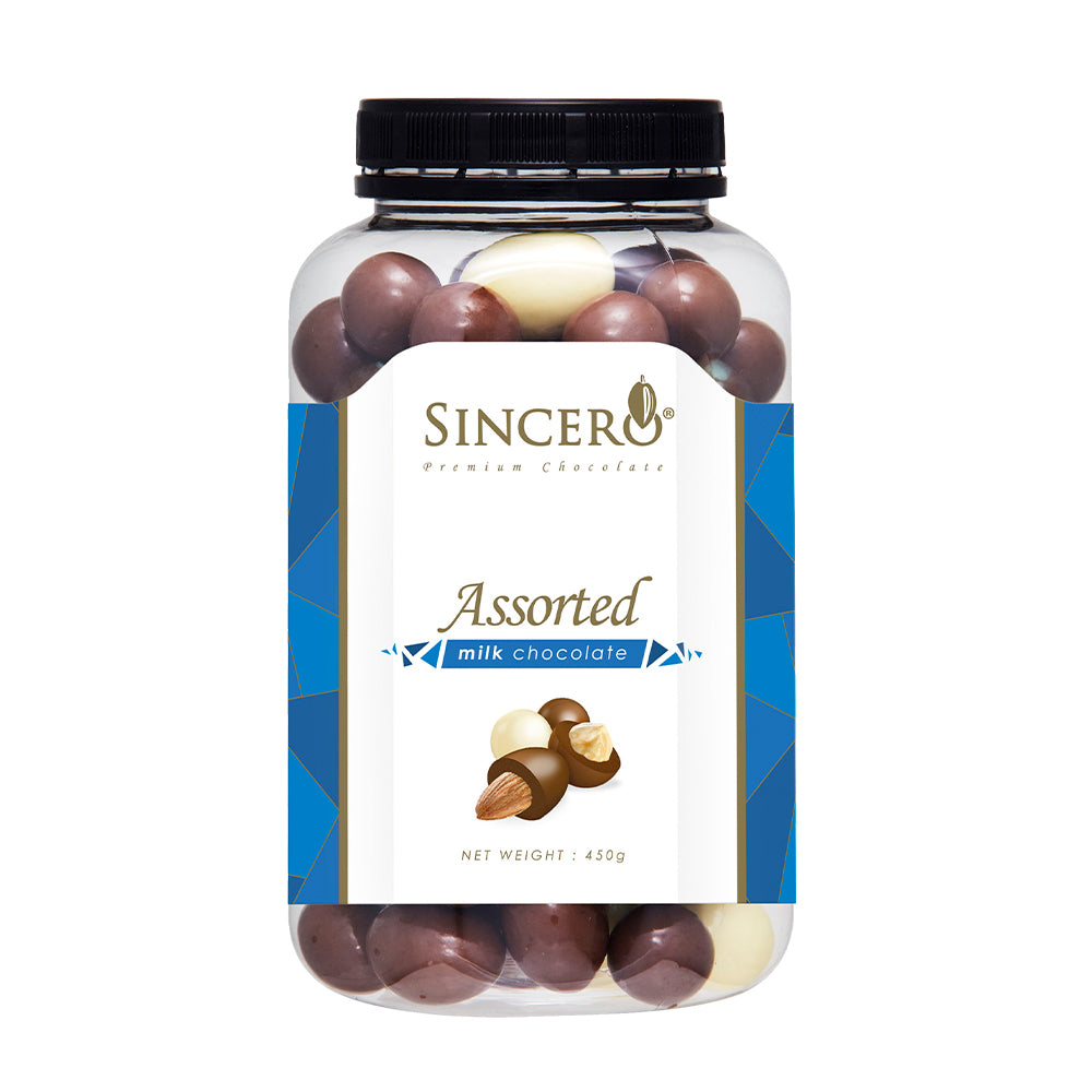 Sincero Assorted Milk Chocolate 450g