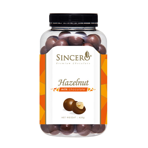 Sincero Hazelnut Milk Chocolate 450g