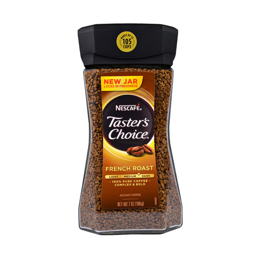 Nescafe Taster's Choice French Roast Medium Dark Roast Instant Coffee 7oz