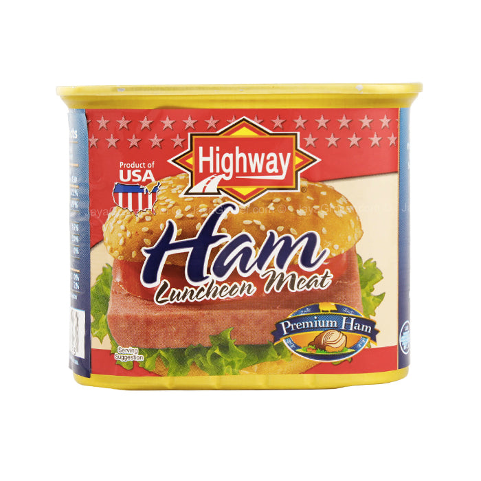 Highway USA Premium Ham Luncheon Meat 340g