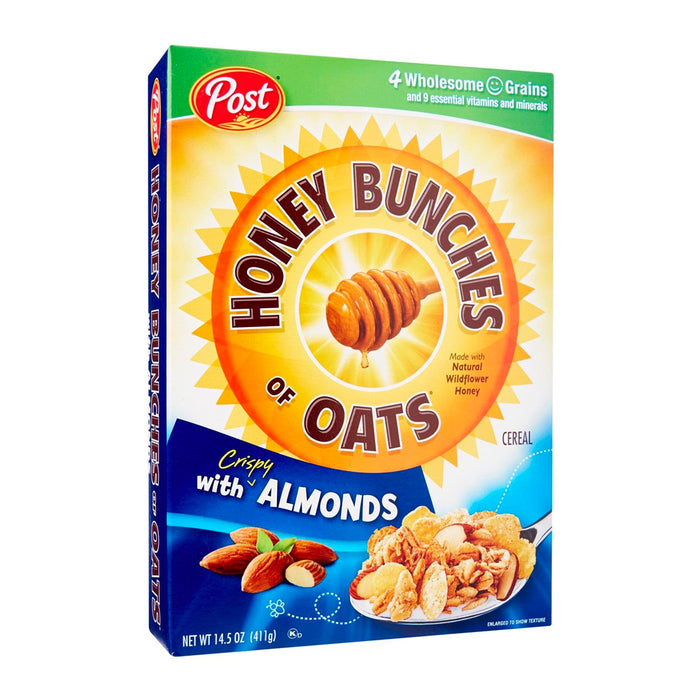 Post Honey Bunches Of Oats Cereal - With Almonds 411g