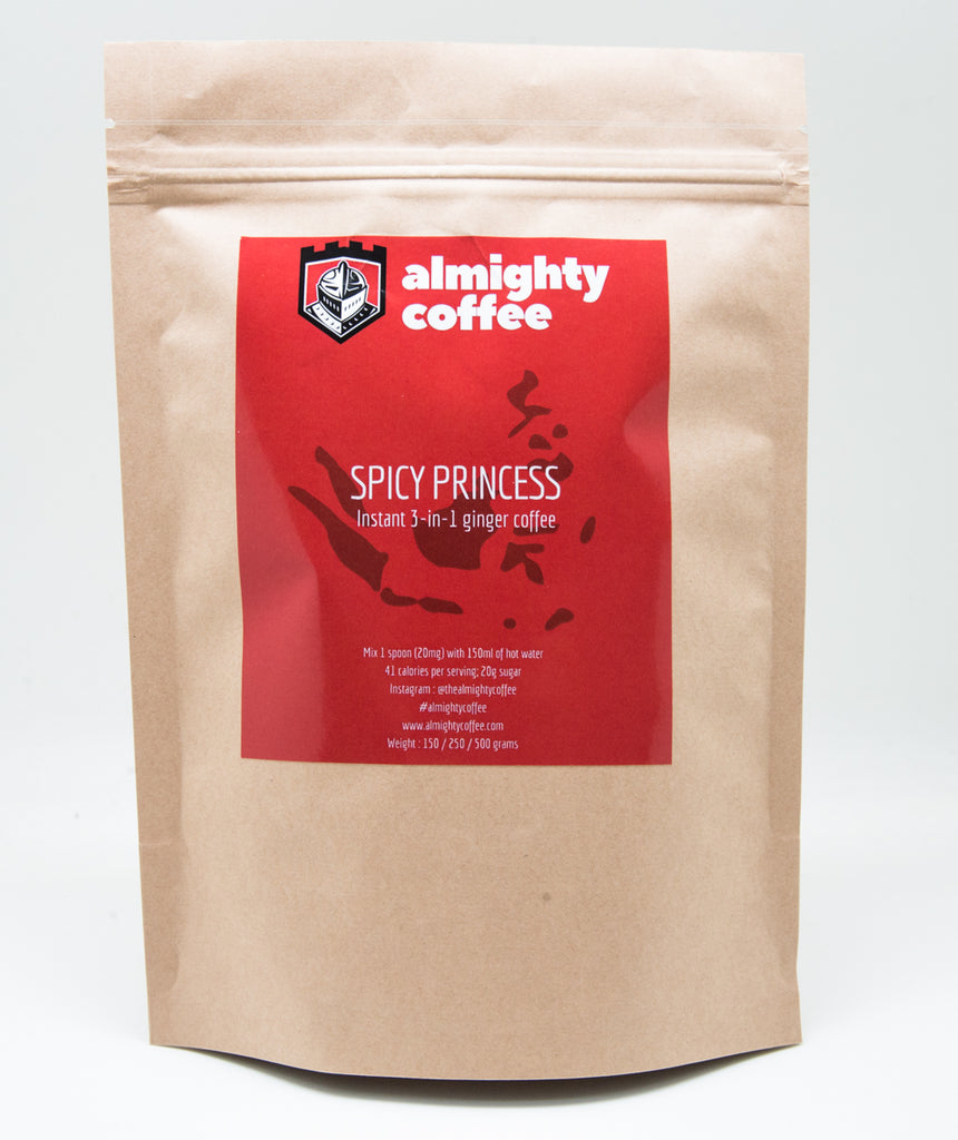 Almighty Coffee 3-in-1 : Spicy Princess (250g pack)