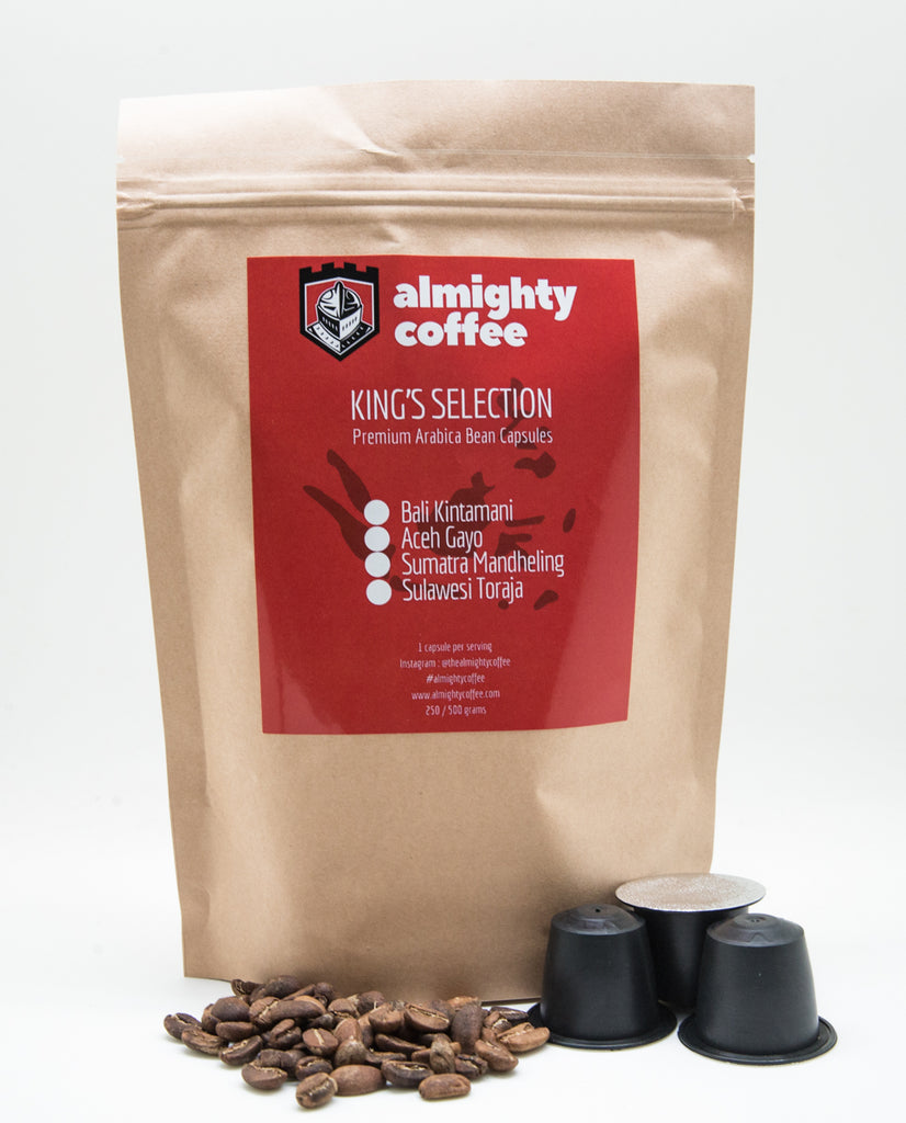 Almighty Capsules : Single Origin (30 capsules)