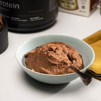 Chocolate Protein Brownie Batter