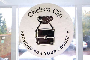 Chelsea Clip Window Sticker