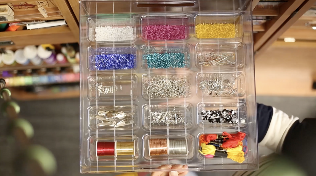 Plastic Tray Inserts work with all ScrapBox Totes!