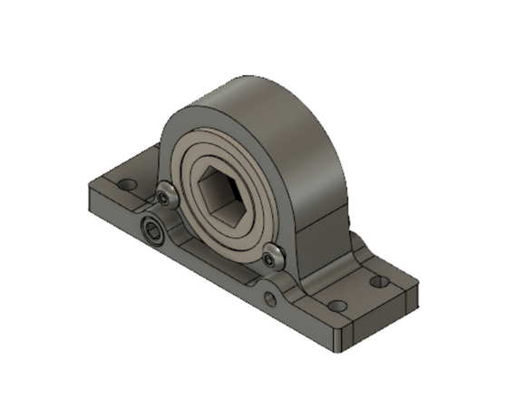 Practiframe Pillow Block Bearing - Heavy Duty