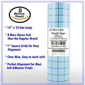 Transfer Paper For Vinyl Jh Best Crafts 12 Inch X 15 Feet