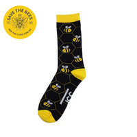 Bee Sock Supporting Honey Bee Preservation