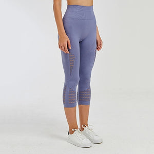 Earnegy Tummy Control Cropped Legging - Dcoup.com