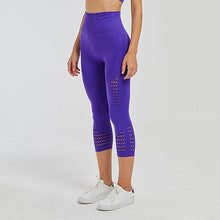 Load image into Gallery viewer, Earnegy Tummy Control Cropped Legging - Dcoup.com