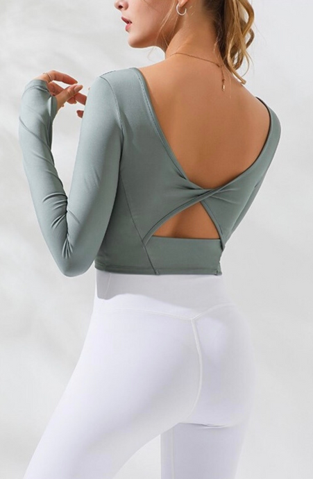 Twist U Yoga Top