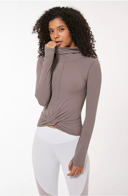 Naked-feels Slim Sport Athletic Long Sleeve Shirts - Dcoup.com