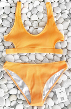 Load image into Gallery viewer, Yarn Solid Two Pieces  Bikini Set - Dcoup.com