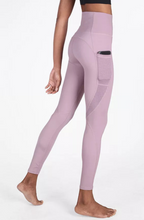 Load image into Gallery viewer, High Waisted Thin Style Pocket Legging