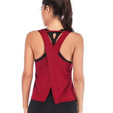 Load image into Gallery viewer, Backless Cross Tank Top