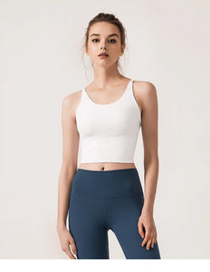 Vest Beauty Back Sports Bra - Dcoup.com