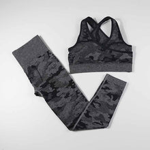 Load image into Gallery viewer, Camo Seamless 2 Piece Set