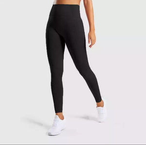 High Waisted Vital Seamless Leggings - Dcoup.com