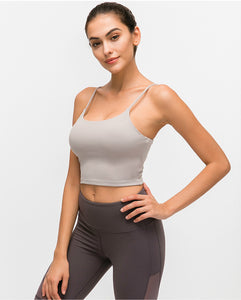 Essential Push Up Crop Top