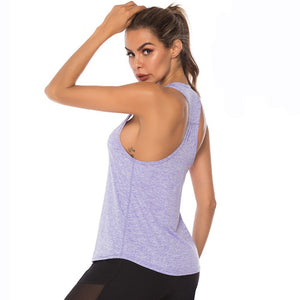 Racerback Yoga Tank Top - Dcoup.com