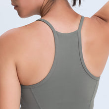 Load image into Gallery viewer, High Neck Sleeveless Tank