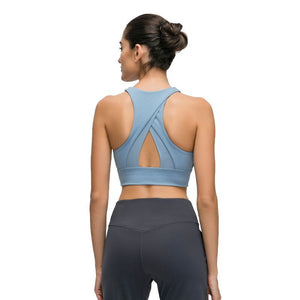 Triangle Hollow Out Sports Bra