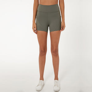 Side Pockets Tummy Shorts