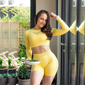 Fit and Fine Seamless Two Piece Set
