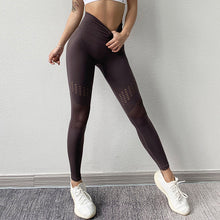 Load image into Gallery viewer, Hollow Out Tummy Control Legging